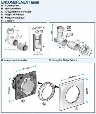 Prises Legrand Aspiration Centralis E Prosp 39 Air