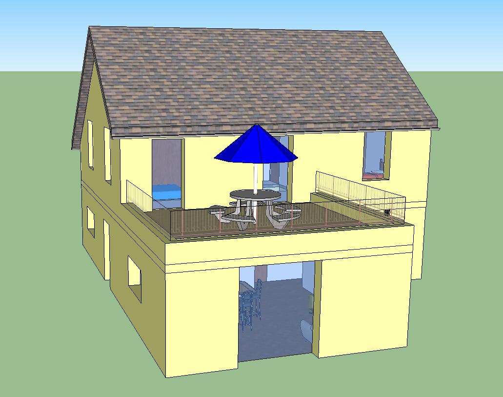 Projet de vmc double flux prosp 39 air for Garage avec toit terrasse