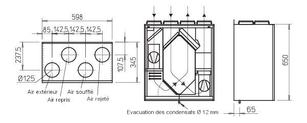 prosp 39 air vmc double flux puits canadien et aspiration centralis e. Black Bedroom Furniture Sets. Home Design Ideas