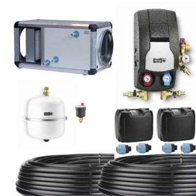 kits complets d 39 changeur g othermique eau glycol e puits canadien proven al prosp 39 air. Black Bedroom Furniture Sets. Home Design Ideas