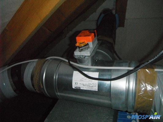 Galerie photos d 39 installations vmc ventilation prosp 39 air - Installation d une vmc double flux ...
