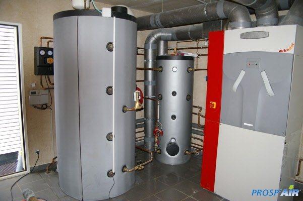 Galerie photos d 39 installations vmc ventilation prosp 39 air for Vmc double flux zehnder