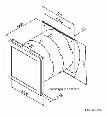 centrales double flux monobloc kwl ec 60 vmc. Black Bedroom Furniture Sets. Home Design Ideas