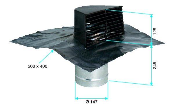entr es sorties d 39 air travers es de toit ou de mur vmc. Black Bedroom Furniture Sets. Home Design Ideas
